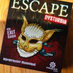 Escape Dysturbia Mörderischer Maskenball